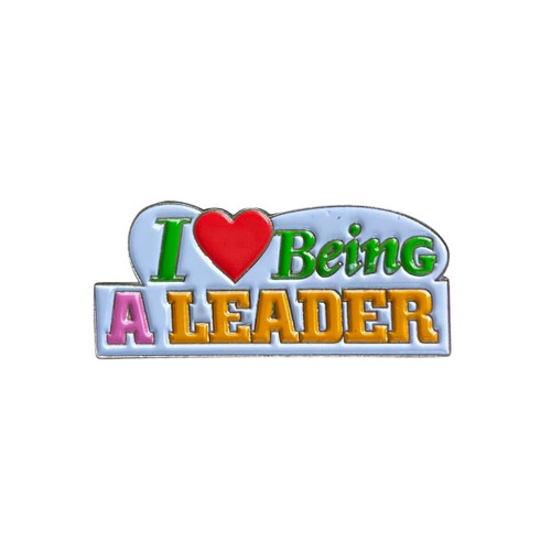 GSWCF I Love Being a Leader Pin