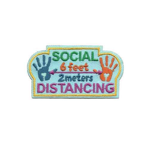 GSWCF Social Distancing Fun Patch