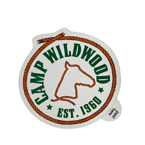 GSWCF Camp Wildwood Sticker