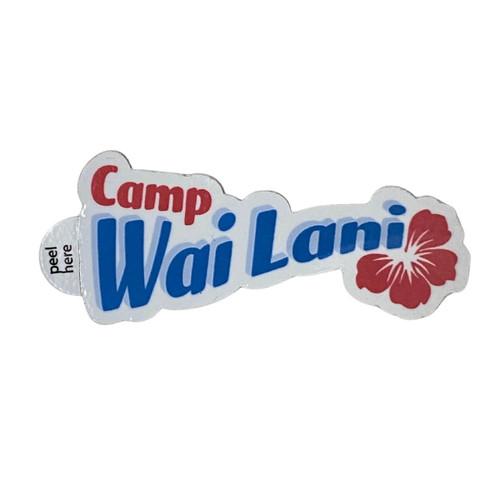GSWCF Camp Wai Lani Sticker