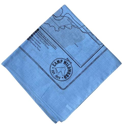 Blue Wildwood Bandana