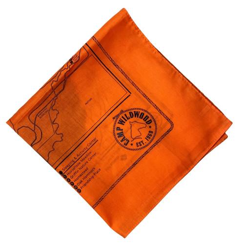 Orange Wildwood Bandana