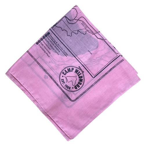 Pink Wildwood Bandana