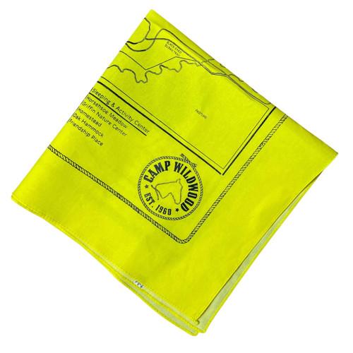 Yellow Wildwood Bandana