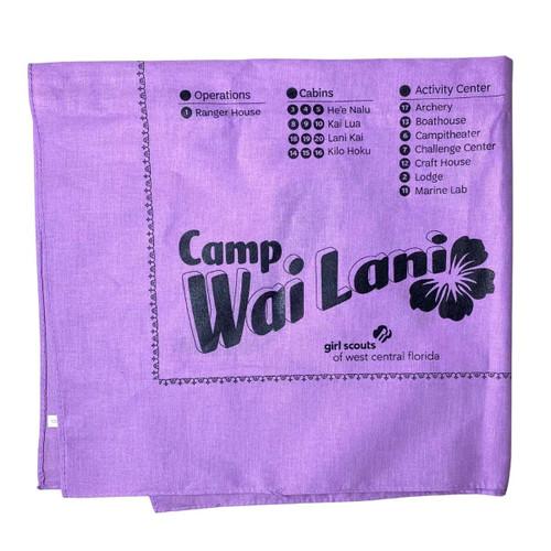 Purple Wai Lani Bandana