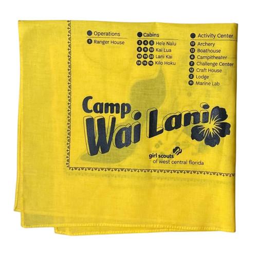 Yellow Wai Lani Bandana