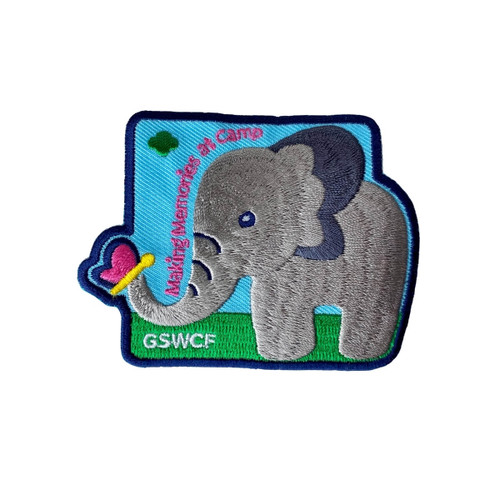 GSWCF 2021 Elephant Camp Fun Patch