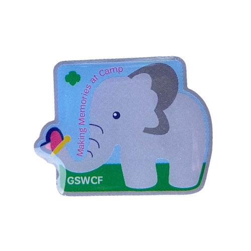 GSWCF Elephant Camp Trading Pin