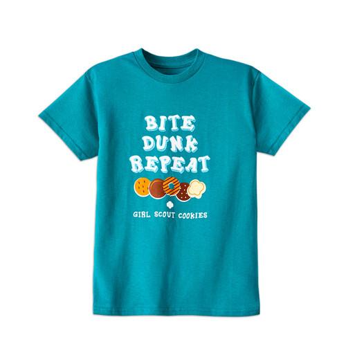 GSWCF Bite, Dunk, Repeat T-Shirt Ad