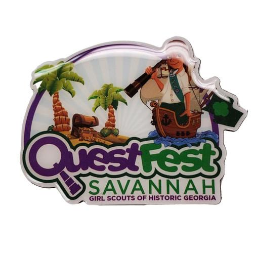 GSHG QuestFest Magnet