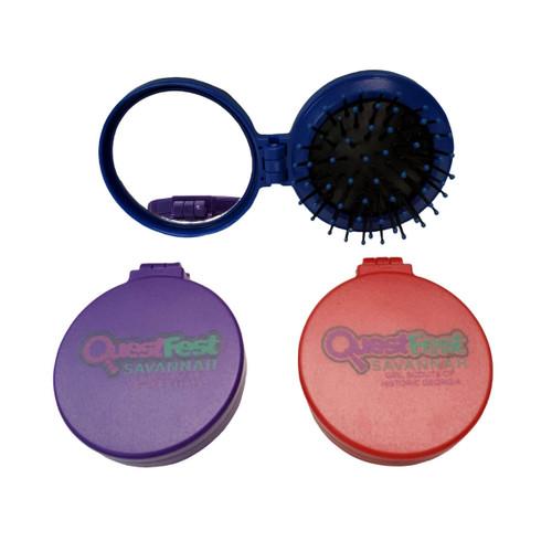 GSHG QuestFest Foldable Hairbrush