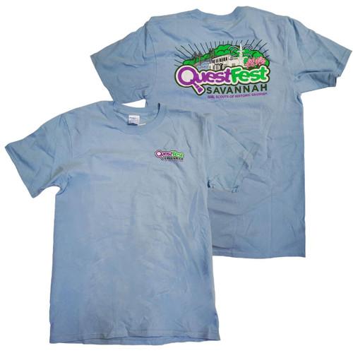 GSHG QuestFest Blue T-shirt