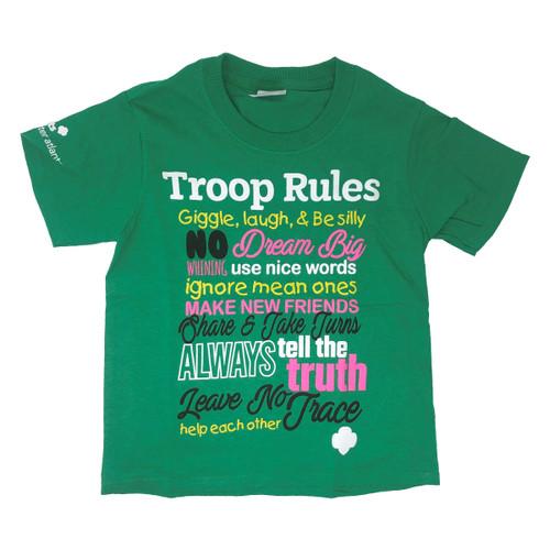 GSGATL Troop Rules Tee