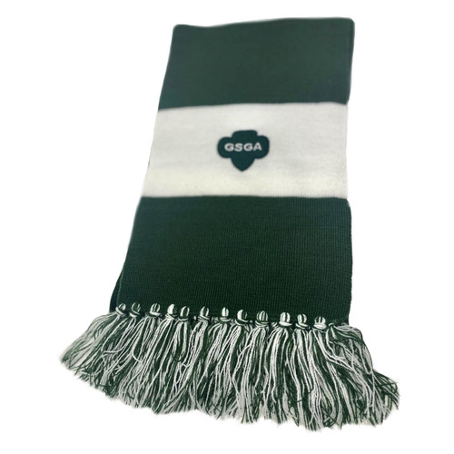 GSGATL Green and White Scarf