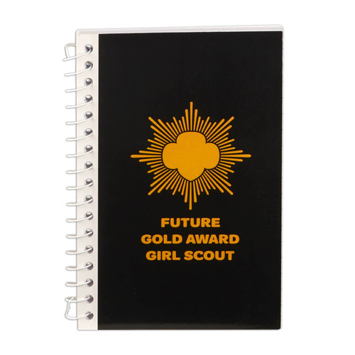 Future Gold Award Girl Scout Notebo