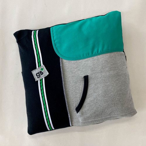 junior upcycled pillow