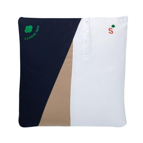 senior upcycled pillow