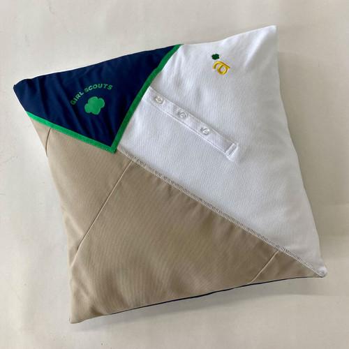 ambassador upcycled pillow