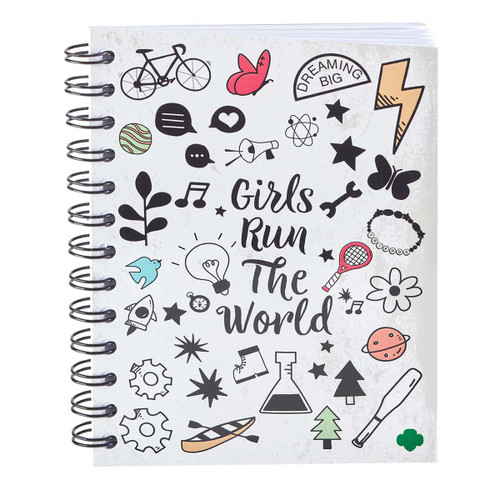 Girl Scouts Run the World Journal