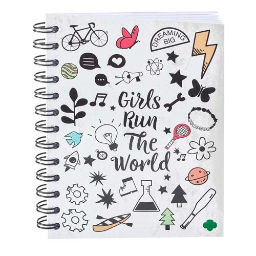 Girl Scouts Run the World Journal