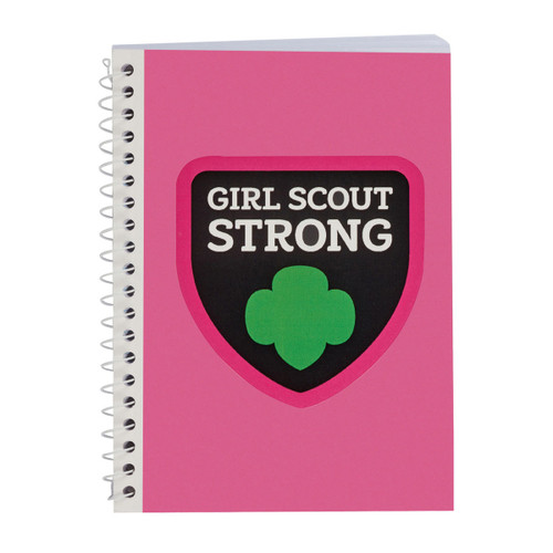 Girl Scout Strong Spiral Journal