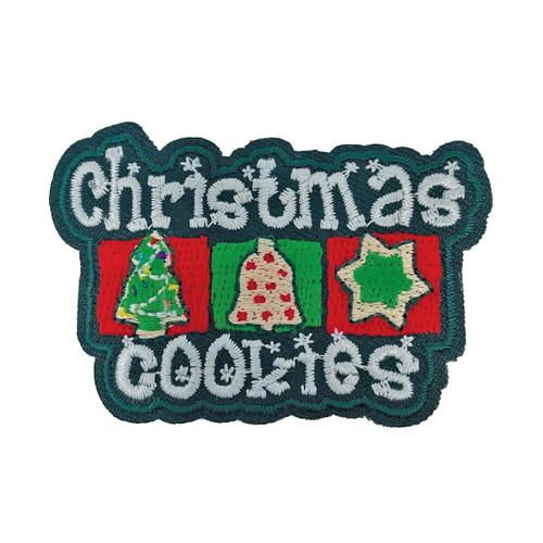 GSHNC Christmas Cookies Fun Patch