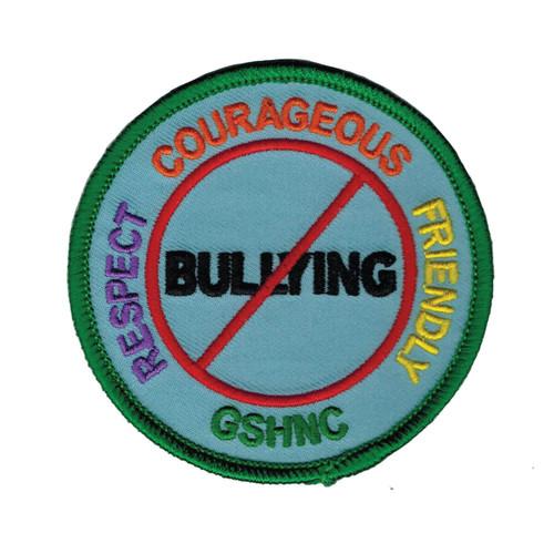 GSHNC Stop Bullying Patch