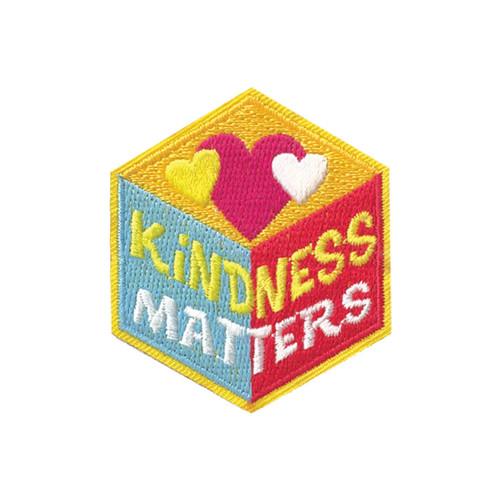 GSHNC Kindness Matters Fun Patch
