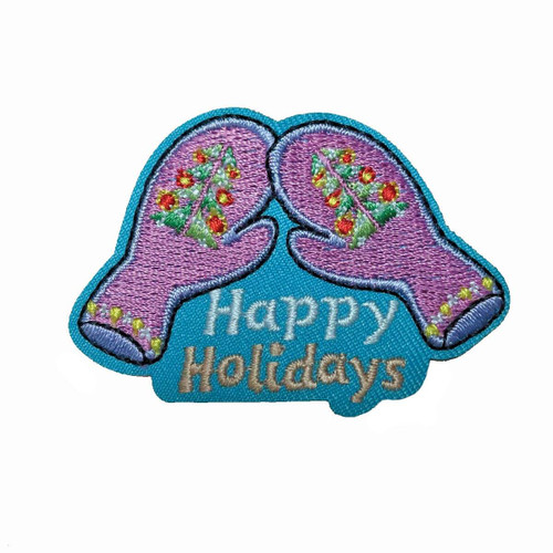 GSHNC Happy Holidays Fun Patch