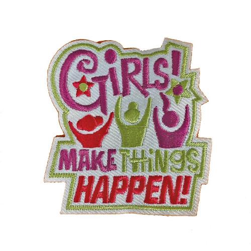 GSHNC Girls Make it Happen Fun Patc