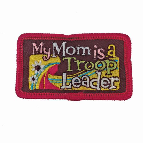 GSHNC Mom is Troop Leader Fun Patch