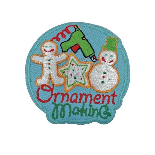 GSHNC Ornament Making Fun Patch