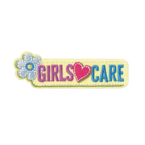 GSHNC Girls Care Fun Patch