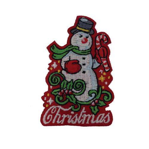 GSHNC Christmas Snowman Fun Patch