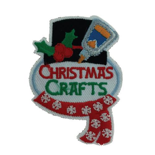GSHNC Christmas Crafts Fun Patch