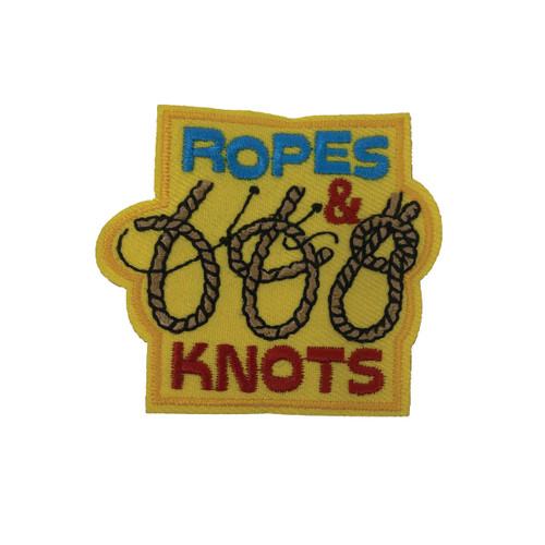 GSHNC Ropes and Knots Fun Patch