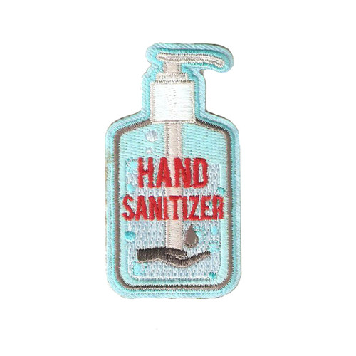 GSHNC Hand Sanitizer Fun Patch