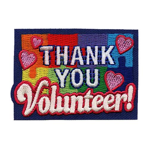 GSNCCP Thank You Volunteer Fun Patc