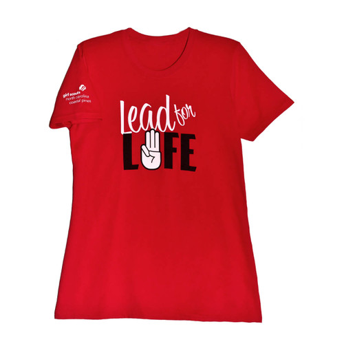 GSNCCP Lead For Life Front/Back T-S