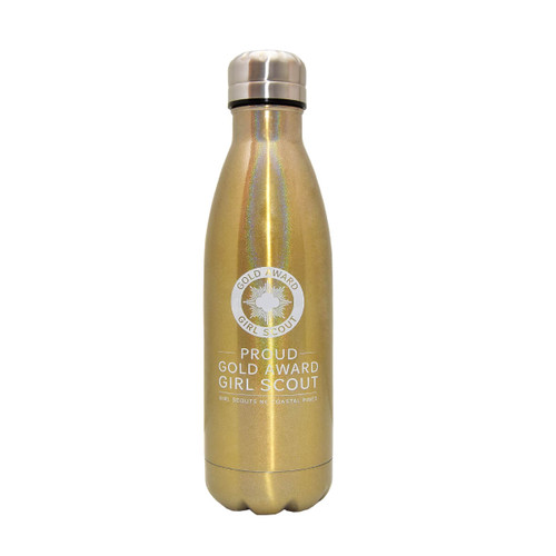 GSNCCP Gold Award Metallic Bottle