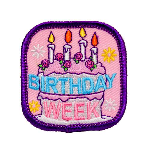 GSNCCP Birthday Week Fun Patch