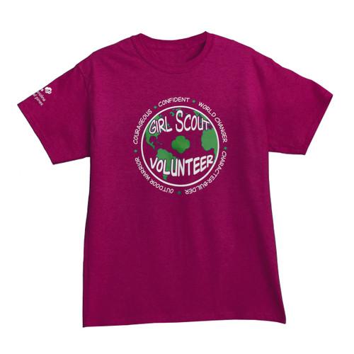 GSNCCP Volunteer World Changer pink