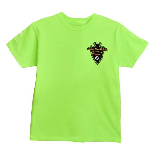 GSNCCP Camp Mu Sha Ni Logo green
