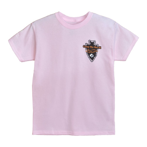 GSNCCP Camp Mu Sha Ni Logo/ pink