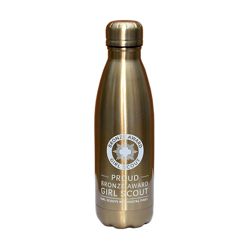 GSNCCP Bronze Award Metallic Bottle