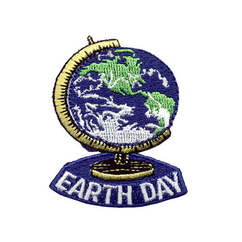 GSNCCP Earth Day Globe Fun Patch
