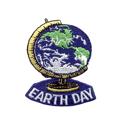 GSNCCP Earth Day Globe Fun Patch