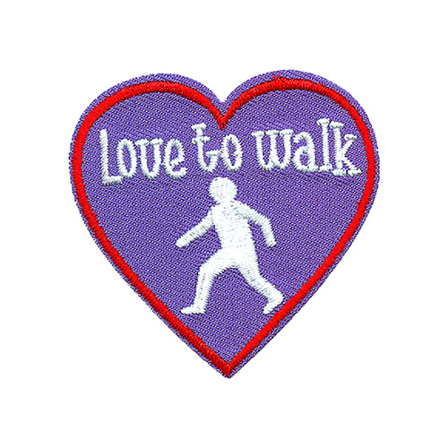 GSNCCP Love to Walk Fun Patch