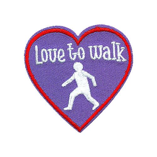 GSNCCP Love to Walk Fun Patch
