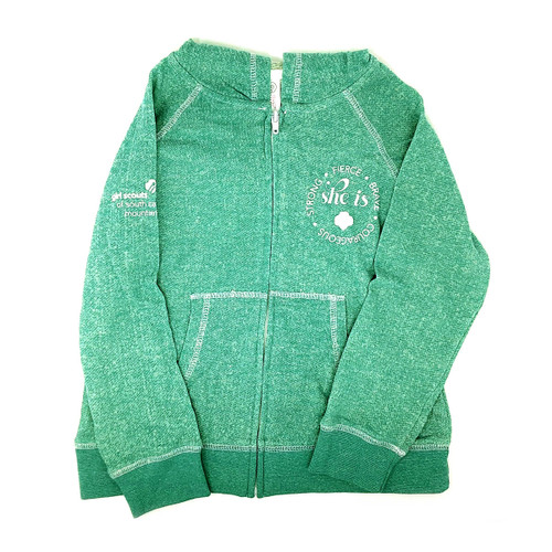 GSSC-MM SHE IS Hooded Jacket for Gi